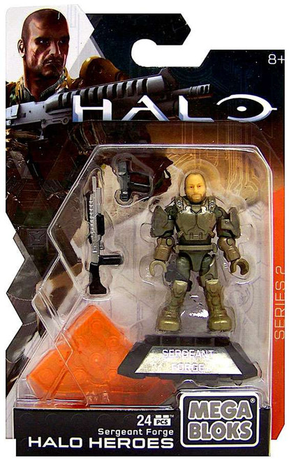 Mega Bloks Halo Heroes Series 2 Sergeant Forge Mini Figure