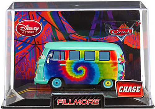 Disney / Pixar Cars Cars 2 1:43 Collectors Case Fillmore Exclusive Diecast Car [Chase Edition, Damaged Package]