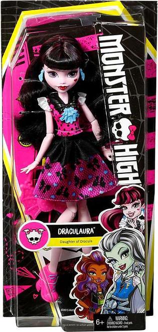Monster High How Do You Boo? Draculaura 10.5-Inch Doll [Polka Dots]