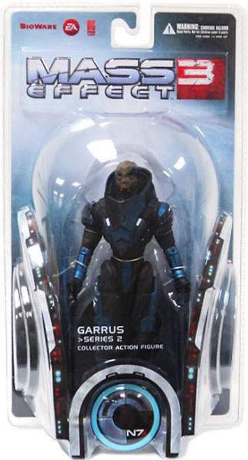 Mass Effect 3 Series 2 Garrus Action Figure [Damaged Package]