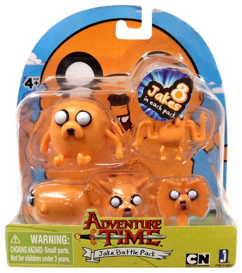 Adventure Time Jake Battle Pack 2-Inch Mini Figure Set