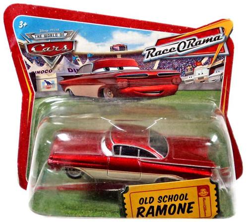 Disney / Pixar Cars World of Cars Race-O-Rama Old School Ramone Diecast Car [Checkout Lane Packaging]