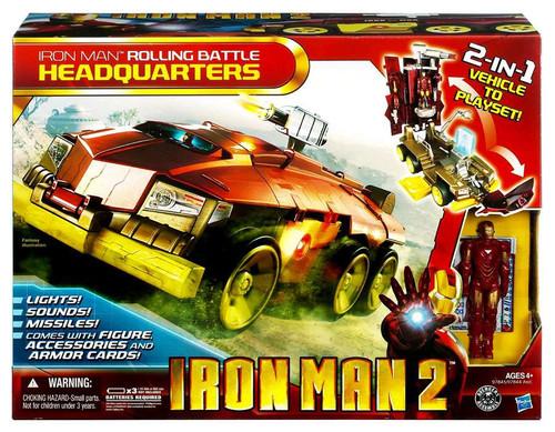 Iron Man 2 Iron Man Rolling Battle Headquarters [Damaged Package]