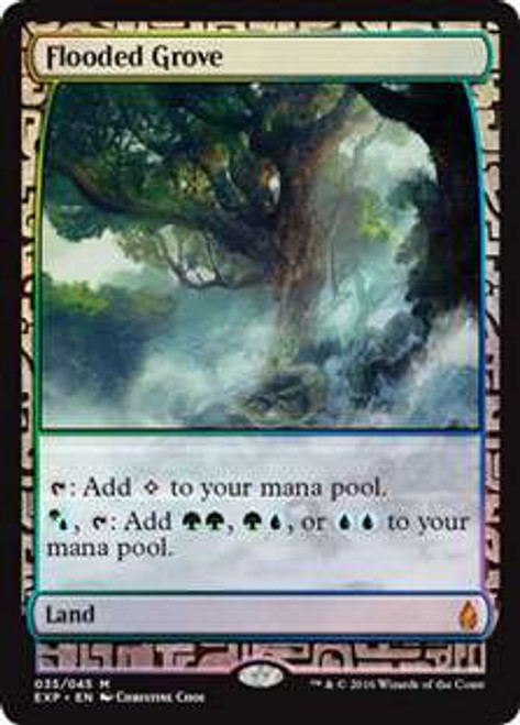 MtG Oath of the Gatewatch Flooded Grove [Zendikar Expedition]