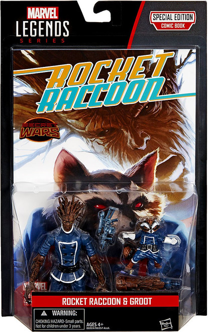 Marvel Legends Rocket Raccoon & Groot Action Figure 2-Pack