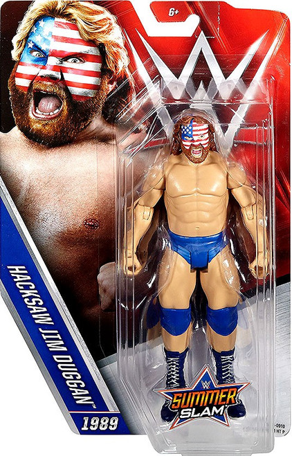 WWE Wrestling Summer Slam Hacksaw Jim Duggan Action Figure [1989]