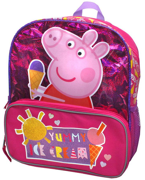 Peppa Pig Yummy Ice Cream Backpack