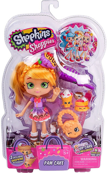 Shopkins Shoppies Pam Cake Doll Figure