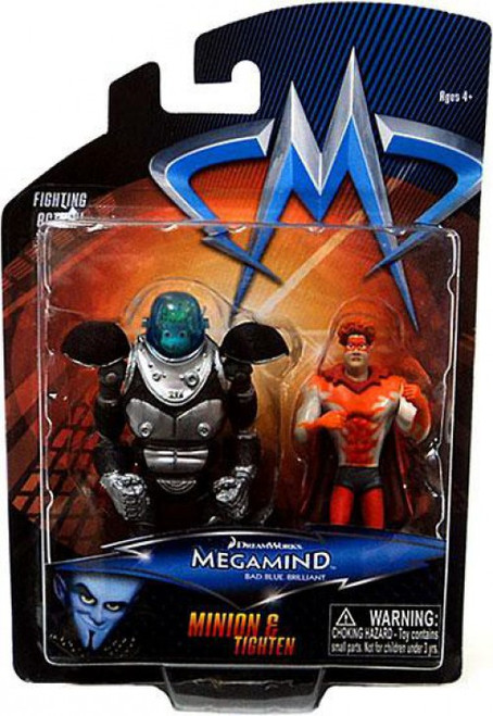 Megamind Minion & Tighten Mini Figure 2-Pack