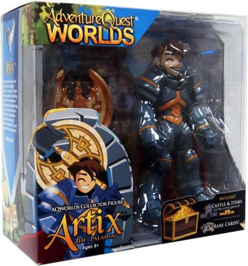 Adventure Quest Worlds Artix the Paladin Action Figure