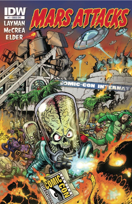 Mars Attacks #1 Exclusive Comic Book [SDCC Exclusive]