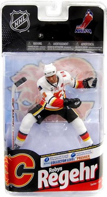 McFarlane Toys NHL Calgary Flames Sports Picks Series 24 Robyn Regehr Action Figure [White Jersey No Signature]