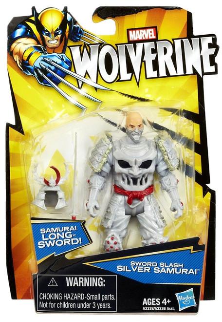 Wolverine Silver Samurai Action Figure [Sword Slash]