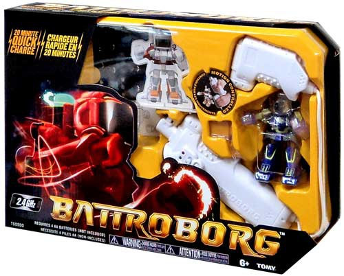 Battroborg Purple R/C Figure
