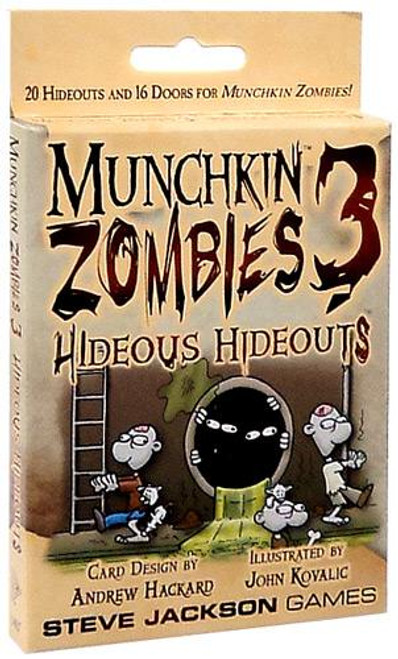 Munchkin Zombies 3: Hideous Hideouts Card Game