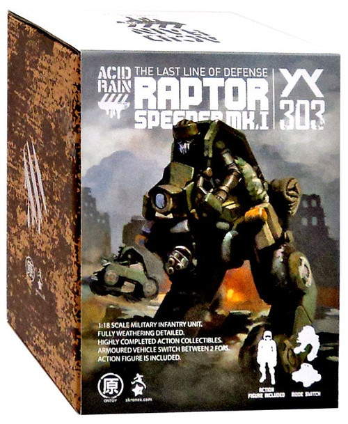 Acid Rain Speeder MKI Raptor Action Figure Vehicle