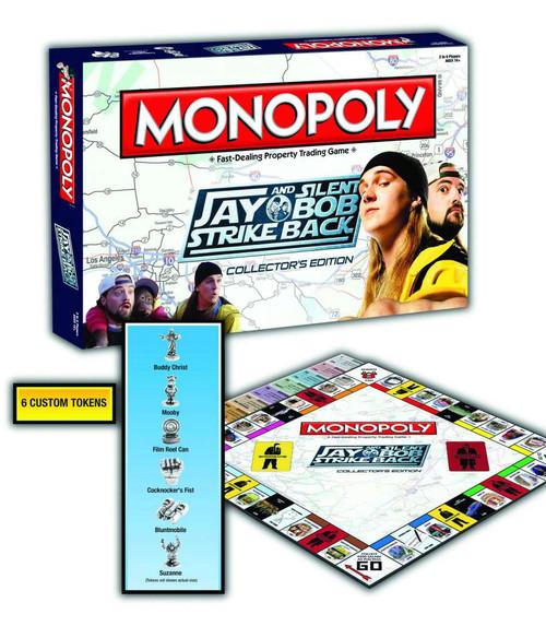 Jay & Silent Bob Strike Back Jay & Silent Bob Stike Back Monopoly Board Game