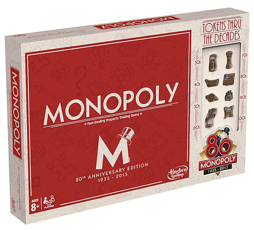 Monopoly 80th Anniversary Board Game [Special Edition]