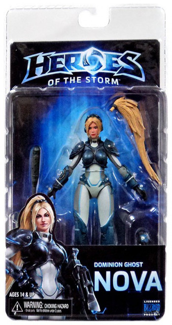 NECA Heroes of the Storm Starcraft Dominion Ghost Nova Action Figure [Nova Terra]