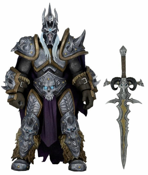 NECA Heroes of the Storm World of Warcraft Series 2 Arthas the Lich King Action Figure
