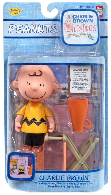 Peanuts A Charlie Brown Christmas Charlie Brown Figure [Directors Chair]