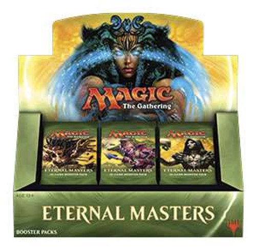 MtG Trading Card Game Eternal Masters Booster Box [24 Packs]