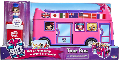 Gift 'Ems Series 1 Giftems Tour Bus Playset