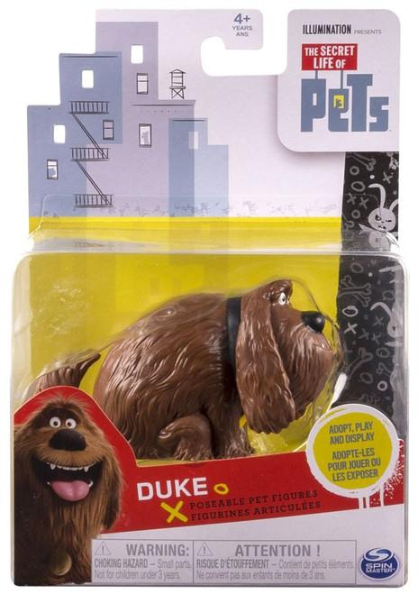 The Secret Life of Pets Poseable Pet Figures Duke Action Figure