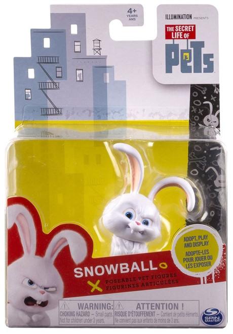 The Secret Life of Pets Poseable Pet Figures Snowball Action Figure
