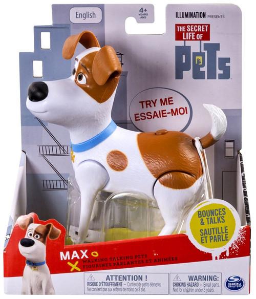 The Secret Life of Pets Walking Talking Pets Max Figure