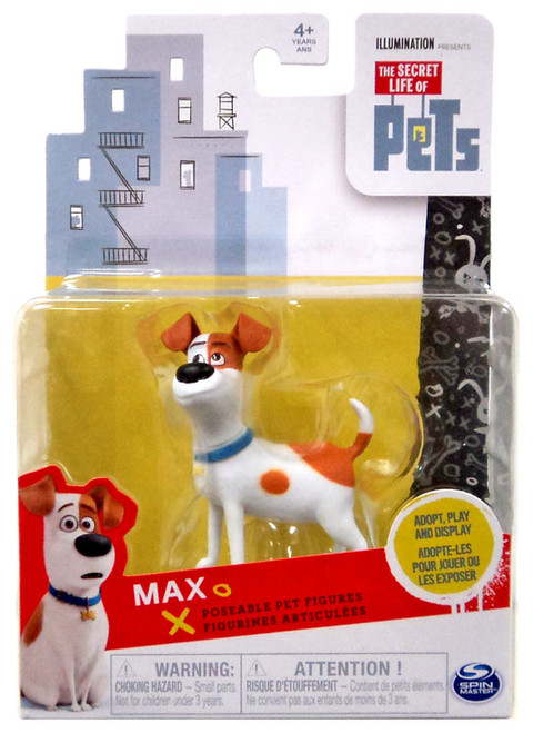 The Secret Life of Pets Poseable Pet Figures Max Action Figure