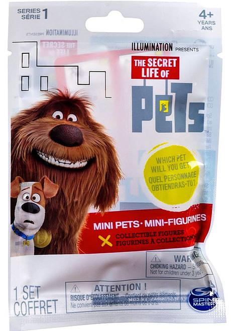 The Secret Life of Pets Mini Pets Series 1 Mini Figure Mystery Pack
