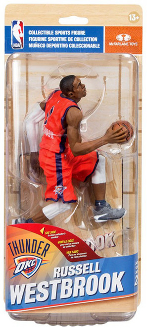 McFarlane Toys NBA Oklahoma City Thunder Sports Picks Series 29 Russell Westbrook Action Figure [Red Jersey]