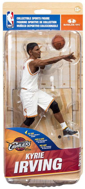 McFarlane Toys NBA Cleveland Cavaliers Sports Picks Series 29 Kyrie Irving Action Figure [White Jersey]