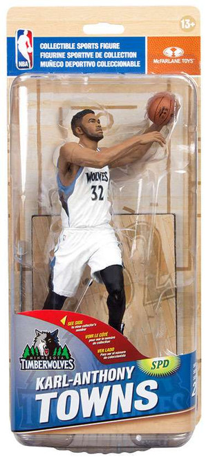 McFarlane Toys NBA Minnesota Timberwolves Sports Picks Series 29 Karl-Anthony Towns Action Figure