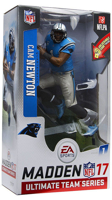 McFarlane Toys NFL Carolina Panthers EA Sports Madden 17 Ultimate Team Series 1 Cam Newton Action Figure