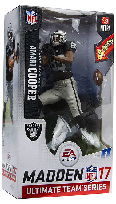 McFarlane Toys NFL Oakland Raiders EA Sports Madden 17 Ultimate Team Series 1 Amari Cooper Action Figure