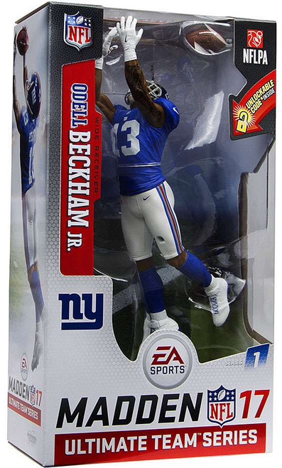 McFarlane Toys NFL New York Giants EA Sports Madden 17 Ultimate Team Series 1 Odell Beckham Jr. Action Figure