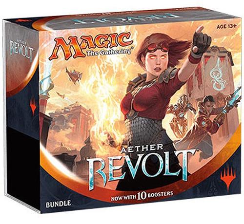 MtG Trading Card Game Aether Revolt Bundle [Includes 10 Booster Packs!]