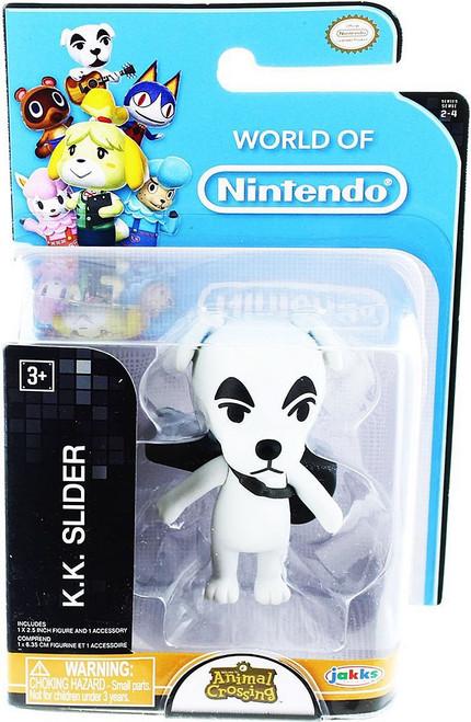 World of Nintendo Animal Crossing KK Slider 2.5-Inch Mini Figure