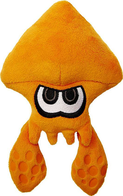 World of Nintendo Splatoon Orange Squid 7-Inch Plush