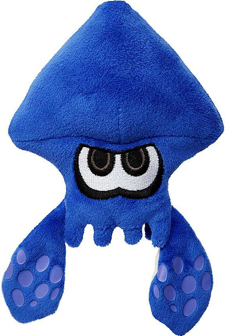 Splatoon World of Nintendo Blue Squid 7-Inch Plush