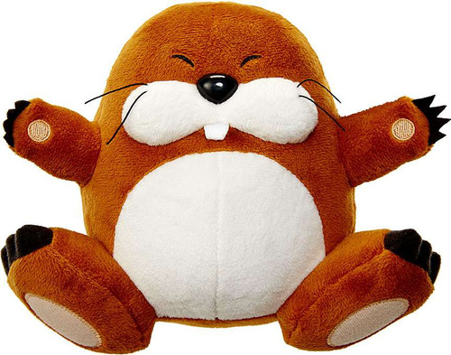 World of Nintendo Super Mario Monty Mole 7-Inch Plush