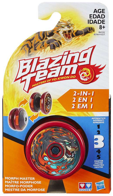 Blazing Team Masters of Yo Kwon Do Morph Master Tiger Yo-Yo