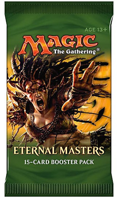 MtG Trading Card Game Eternal Masters Booster Pack [15 Cards]