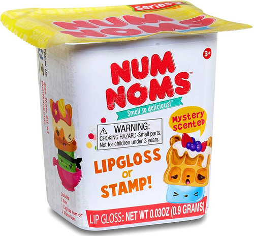 Num Noms Series 2 Lipgloss OR Stamp Mystery Pack