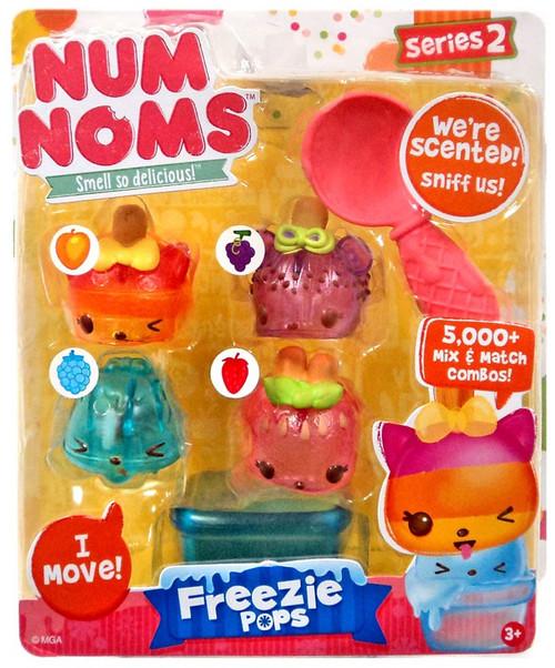 Num Noms Series 2 Freezie Pops Starter 4-Pack
