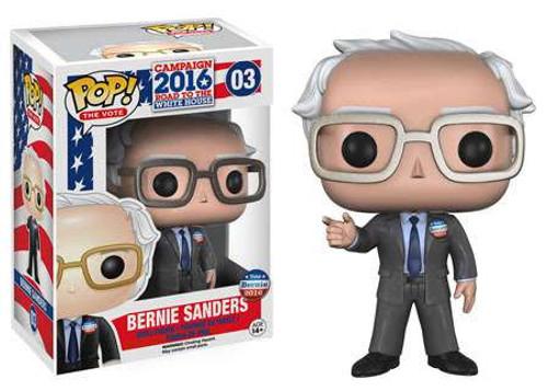 Funko Political Pop! The Vote! Bernie Sanders Vinyl Figure #03 [Damaged Package]