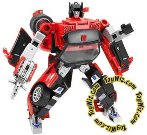 Transformers Alternators Red Dodge Viper Sideswipe Action Figure [Damaged Package]