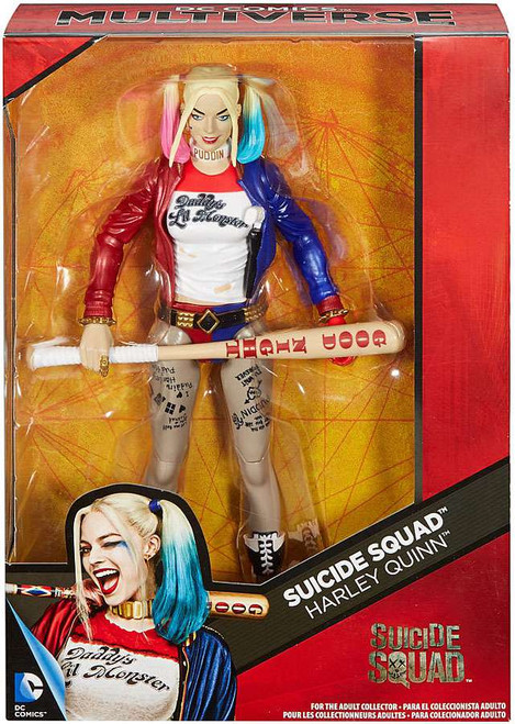 DC Suicide Squad Multiverse Harley Quinn Deluxe Action Figure